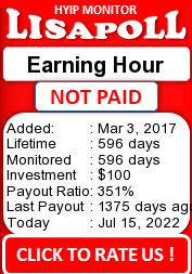lisapoll.com - hyip earning hour